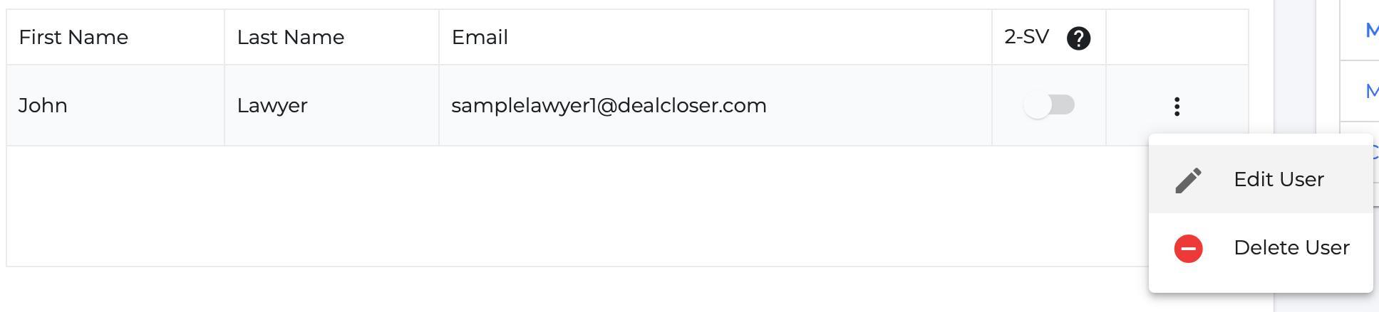 """Click """"Edit User""""."""